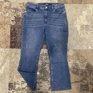 NWOT J Jill Kick Flare Ankle Waverly Wash Jeans 10
